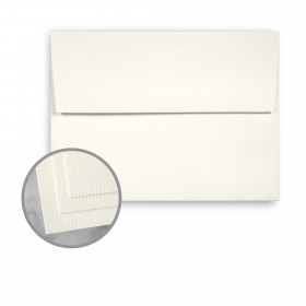 CLASSIC Laid Recycled Natural White Envelopes - A7 (5 1/4 x 7 1/4) 75 lb Text Laid  100% Recycled 1000 per Carton