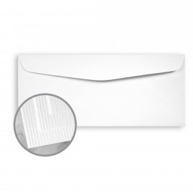 CLASSIC Laid Solar White Envelopes - No. 10 Commercial (4 1/8 x 9 1/2) 24 lb Writing Traditional Laid Watermarked 500 per Box