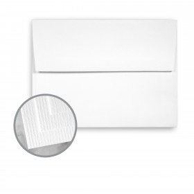 CLASSIC Laid Solar White Envelopes - A2 (4 3/8 x 5 3/4) 75 lb Text Laid 250 per Box