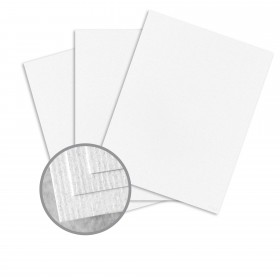 CLASSIC Laid Whitestone Card Stock - 8 1/2 x 11 in 80 lb Cover Laid 250 per Package