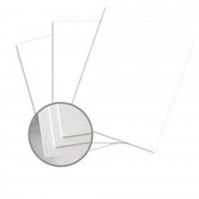 CLASSIC Linen Avalanche White Paper - 8 1/2 x 11 in 24 lb Writing Linen Watermarked 500 per Ream