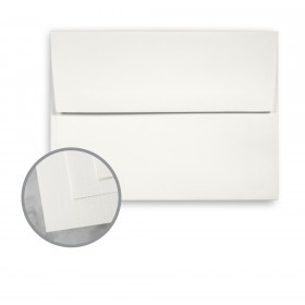 CLASSIC Linen Avon Brilliant White Envelopes - A2 (4 3/8 x 5 3/4) 70 lb Text Linen 250 per Box