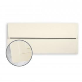 Basis Linen Ivory Envelopes - No. 10 Square Flap (4 1/8 x 9 1/2) 70 lb Text Linen 500 per Box