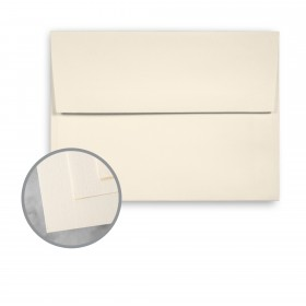 CLASSIC Linen Classic Natural White Envelopes - A7 (5 1/4 x 7 1/4) 70 lb Text Linen 250 per Box