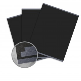 CLASSIC Linen Epic Black Paper - 12 x 18 in 80 lb Text Linen Digital  30% Recycled 250 per Package
