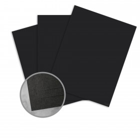 CLASSIC Linen Epic Black Paper - 25 x 38 in 80 lb Text Linen  30% Recycled 750 per Carton