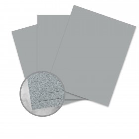 CLASSIC Linen Graystone Card Stock - 8 1/2 x 11 in 80 lb Cover Linen 250 per Package
