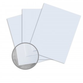 CLASSIC Linen Haviland Blue Card Stock - 8 1/2 x 11 in 80 lb Cover Linen 250 per Package
