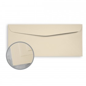 CLASSIC Linen Monterey Sand Envelopes - No. 10 Commercial (4 1/8 x 9 1/2) 80 lb Text Linen 500 per Box