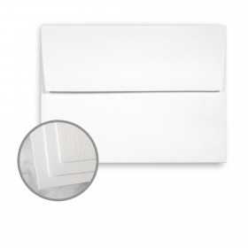 CLASSIC Linen Solar White Envelopes - A6 (4 3/4 x 6 1/2) 24 lb Writing Linen Watermarked 1000 per Carton