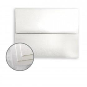 CLASSIC Linen White Pearl Envelopes - A7 (5 1/4 x 7 1/4) 80 lb Text Linen C/2S 250 per Box