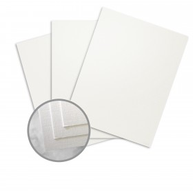 CLASSIC Linen White Pearl Card Stock - 19 x 13 in 115 lb Cover Linen Digital C/2S 500 per Package