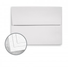 CLASSIC Linen Whitestone Envelopes - A7 (5 1/4 x 7 1/4) 80 lb Text Linen 1000 per Carton