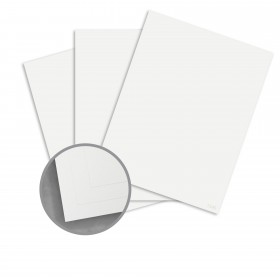 CLASSIC Stipple Bare White Card Stock - 26 x 40 in 100 lb Cover Stipple 200 per Carton