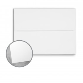 CLASSIC Techweave Avalanche White Envelopes - A7 (5 1/4 x 7 1/4) 80 lb Text Techweave 250 per Box