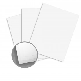 CLASSIC Techweave Avalanche White Card Stock - 26 x 40 in 80 lb Cover Techweave 300 per Carton