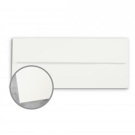 CLASSIC Techweave Avon Brilliant White Envelopes - No. 10 Square Flap (4 1/8 x 9 1/2) 80 lb Text Techweave 500 per Box