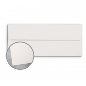 CLASSIC Techweave Bare White Envelopes - No. 10 Square Flap (4 1/8 x 9 1/2) 80 lb Text Techweave 500 per Box