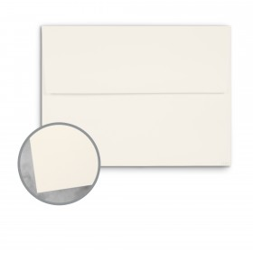 CLASSIC Techweave Classic Natural White Envelopes - A7 (5 1/4 x 7 1/4) 80 lb Text Techweave 250 per Box