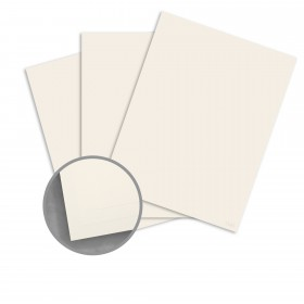 CLASSIC Techweave Classic Natural White Card Stock - 26 x 40 in 80 lb Cover Techweave 300 per Carton