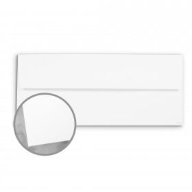 CLASSIC Techweave Recycled 100 Bright White Envelopes - No. 10 Square Flap (4 1/8 x 9 1/2) 80 lb Text Techweave 500 per Box