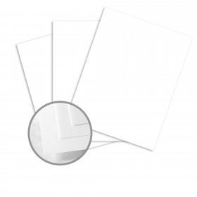 Color Copy 100% Recycled PC White Card Stock - 8 1/2 x 11 in 80 lb Cover 100% Recycled 250 per Package