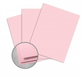 Colorplan Candy Pink Card Stock - 25 x 38 in 130 lb Cover Vellum 100 per Package
