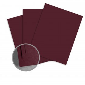 Colorplan Claret Paper - 25 x 38 in 91 lb Text Vellum 250 per Package