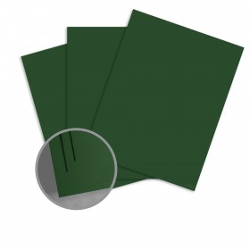 Colorplan Forest Green Card Stock - 25 x 38 in 100 lb Cover Vellum 100 per Package