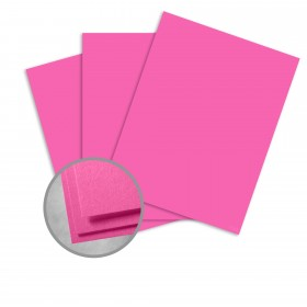 Colorplan Fuchsia Pink Paper - 25 x 38 in 91 lb Text Vellum 250 per Package