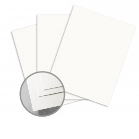 Colorplan Pristine White Card Stock - 25 x 38 in 130 lb Cover Vellum 100 per Package