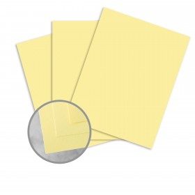 Colorplan Sorbet Yellow Paper - 25 x 38 in 91 lb Text Vellum 250 per Package