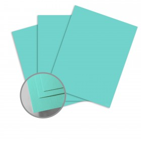 Colorplan Turquoise Paper - 25 x 38 in 91 lb Text Vellum 250 per Package