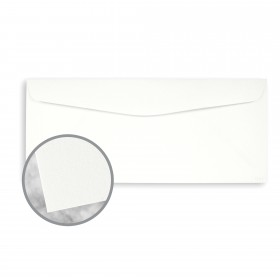 Conqueror Brilliant White Envelopes - No. 10 Commercial (4 1/8 x 9 1/2) 24 lb Writing Wove Watermarked 500 per Box