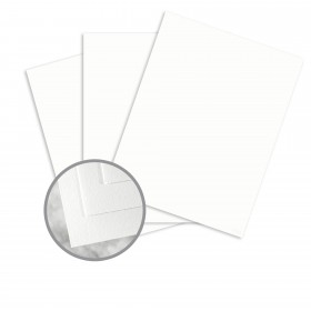 Conqueror Brilliant White Paper - 8 1/2 x 11 in 24 lb Writing Wove Watermarked 2500 per Carton