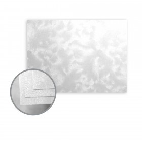 Constellation Jade Silver Flat Cards - A2 (4 1/4 x 5 1/2) 80 lb Cover Riccio C/1S 1000 per Carton