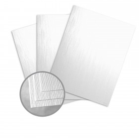 Pearlescents Pearlescent White Paper - 8 1/2 x 11 in 78 lb Text Silk C/1S 25 per Package