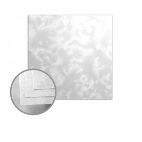 Constellation Jade Silver Flat Cards - No. 6 1/4 Square (6 1/4 x 6 1/4) 80 lb Cover Riccio C/1S 250 per Carton