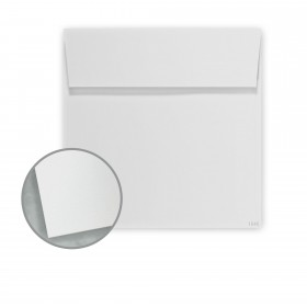 Construction Grout Gray Envelopes - No. 6 Square (6 x 6) 70 lb Text Vellum 30% Recycled 250 per Box
