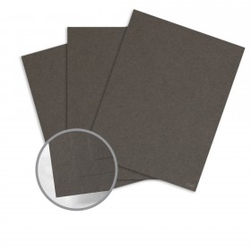 Construction Charcoal Brown Card Stock - 26 x 40 in 80 lb Cover Vellum  100% Recycled 500 per Carton