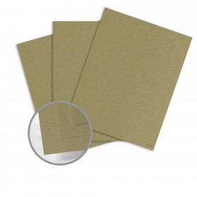 Construction Factory Green Card Stock - 26 x 40 in 100 lb Cover Vellum  100% Recycled 400 per Carton