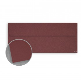 Construction Paver Red Envelopes - No. 10 Square Flap (4 1/8 x 9 1/2) 70 lb Text Vellum 30% Recycled 500 per Box