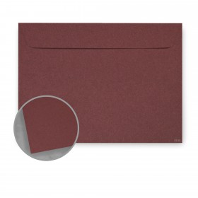 Construction Paver Red Envelopes - No. 6 1/2 Booklet (6 x 9) 70 lb Text Vellum 30% Recycled 500 per Carton