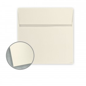 Construction Whitewash Envelopes - No. 6 Square (6 x 6) 70 lb Text Vellum 100% Recycled 250 per Box