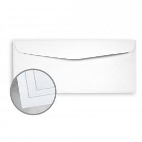 Coronado SST Bright White Envelopes - No. 10 Commercial (4 1/8 x 9 1/2) 70 lb Text Stipple C/2S  30% Recycled 500 per Box