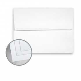 Coronado SST Bright White Envelopes - A7 (5 1/4 x 7 1/4) 70 lb Text Stipple C/2S  30% Recycled 250 per Box