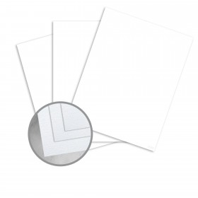 Coronado SST Bright White Card Stock - 26 x 40 in 80 lb Cover Stipple C/2S  30% Recycled 300 per Carton