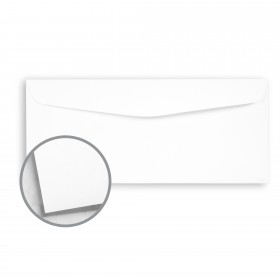 Cougar White Envelopes - No. 9 Regular (3 7/8 x 8 7/8) 60 lb Text Vellum 10% Recycled 500 per Box
