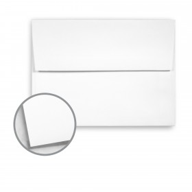 Cougar White Envelopes - A2 (4 3/8 x 5 3/4) 70 lb Text Vellum 10% Recycled 250 per Box