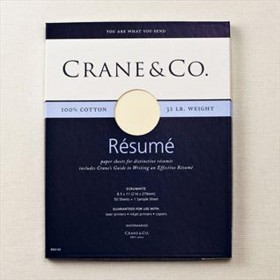 Crane & Co. 32 lb. Ecruwhite Executive Sheets
